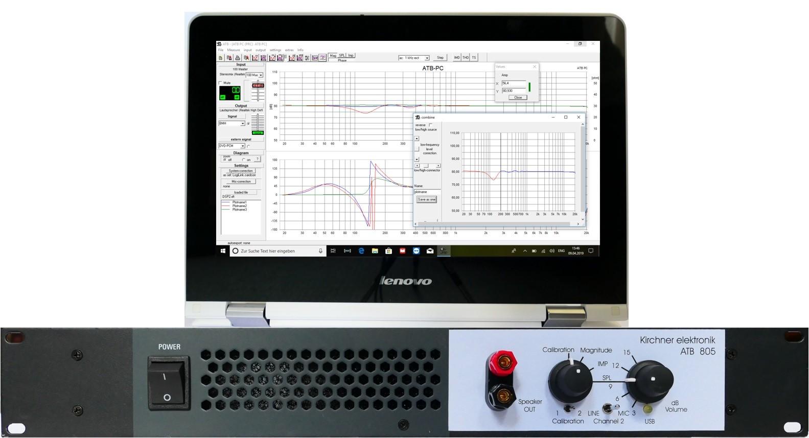 Audio Analyzer ATB 805 – Kirchner elektronik
